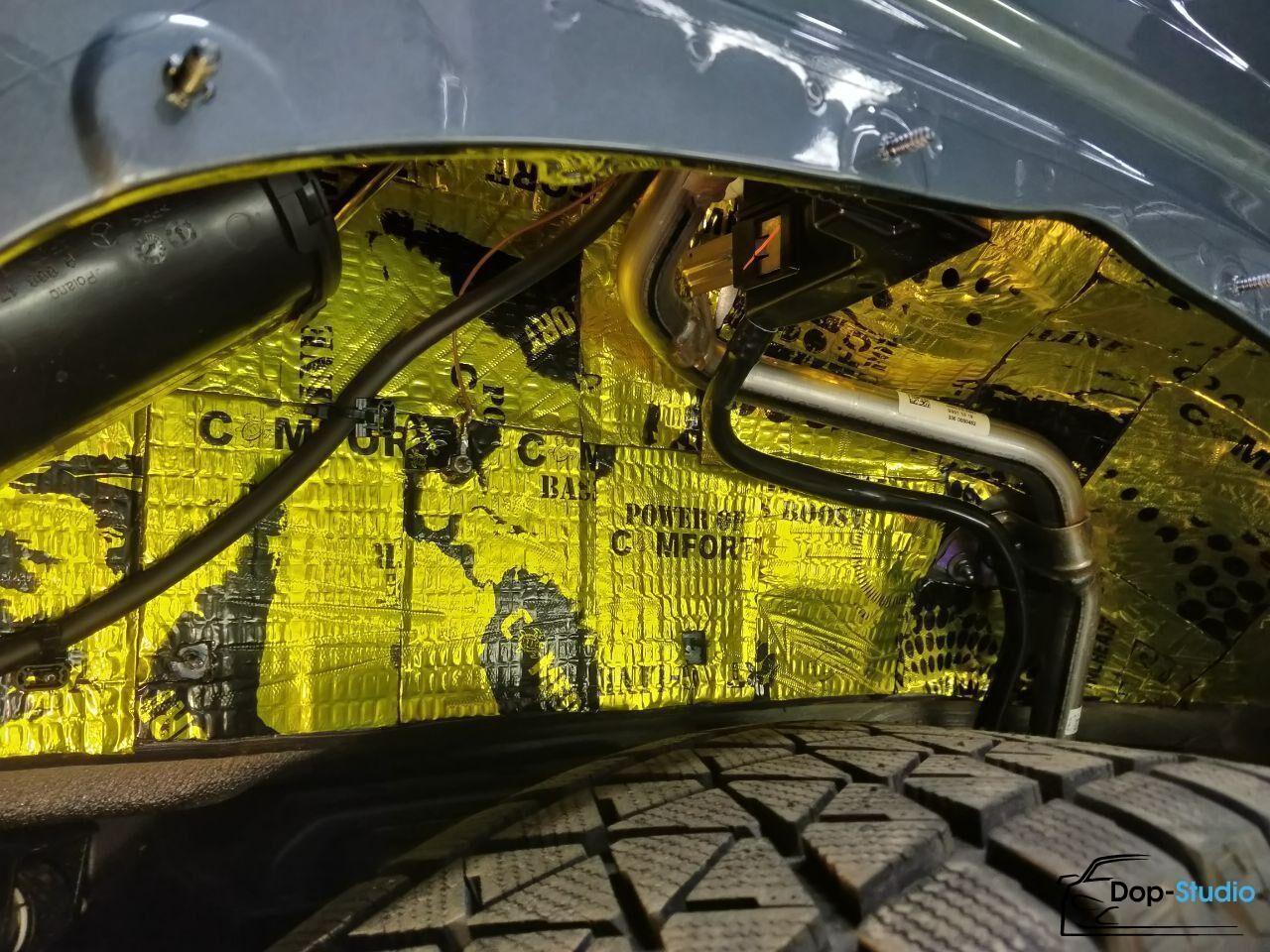 Сделать шумоизоляцию арок в машине Алтуфьево