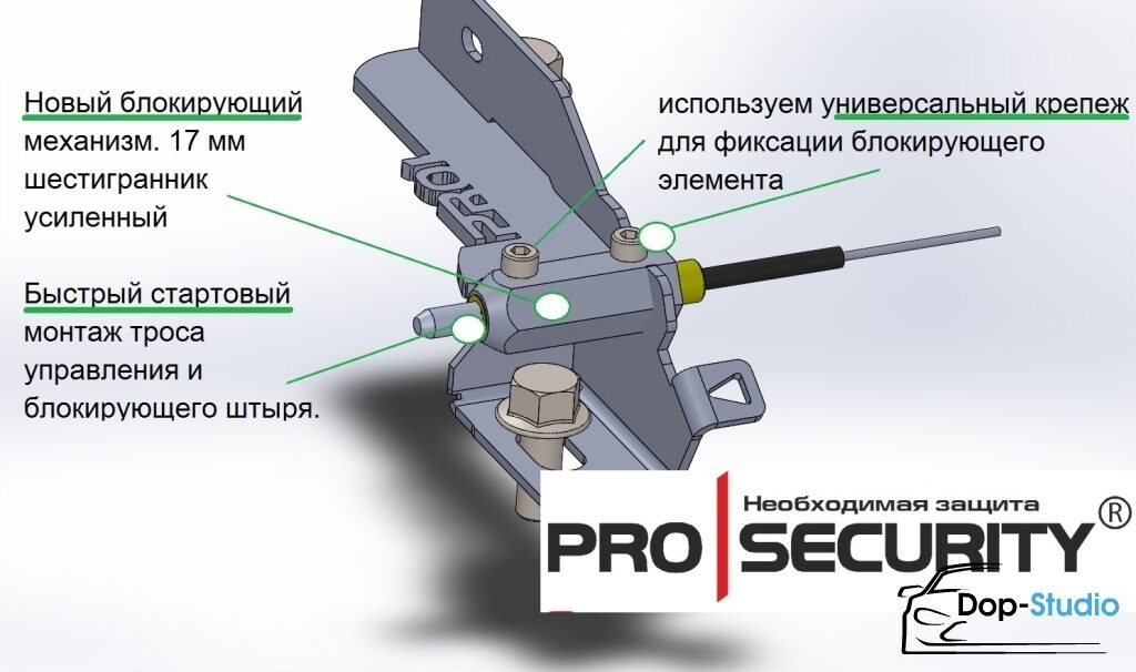 PROSECURITY GEARLOCK