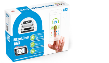 StarLine A63 + CAN + GSM + GPS