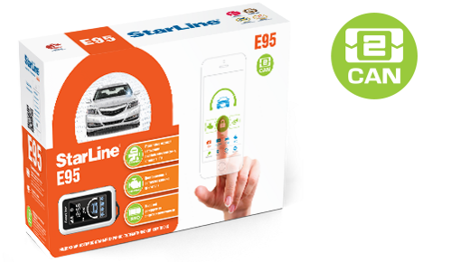 StarLine E95 BT 2CAN + LIN + GSM + GPS