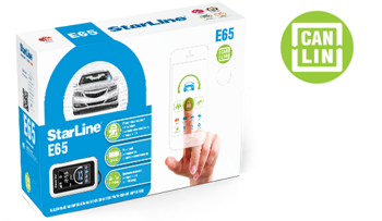 StarLine E65 + 2CAN +2LIN + GSM + GPS
