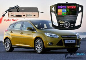 Автомагнитола для Ford Focus 3 Redpower 31150 IPS DSP ANDROID 7