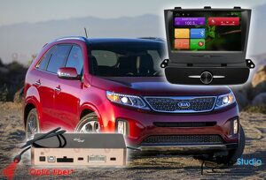 Магнитола KIA Sorento R2 (топовая комплектация) RedPower 31040 IPS DSP ANDROID 7
