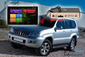 Автомагнитола для Toyota Land Cruiser Prado 120 RedPower 31182 IPS DSP ANDROID 7