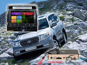 Автомагнитола для Toyota LC200 Redpower 31200 IPS ANDROID 7