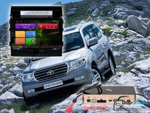 Магнитола Toyota Land Cruiser 200 Redpower 31200 R IPS DSP ANDROID 7