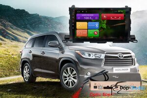 Магнитола Toyota Highlander Redpower 31184 R IPS DSP ANDROID 7