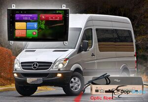 Магнитола для Mercedes Benz Vito, VW Crafter Redpower 31068 IPS DSP ANDROID 7