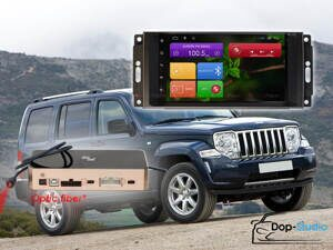 Магнитола на Jeep Dodge Chrysler RedPower 31216 IPS DSP ANDROID 7