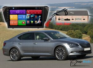 Магнитола Skoda Superb Redpower 31014 R IPS DSP ANDROID 7