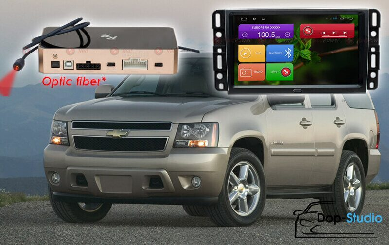 Автомагнитола для Chevrolet Tahoe Redpower 31021 IPS DSP ANDROID 7