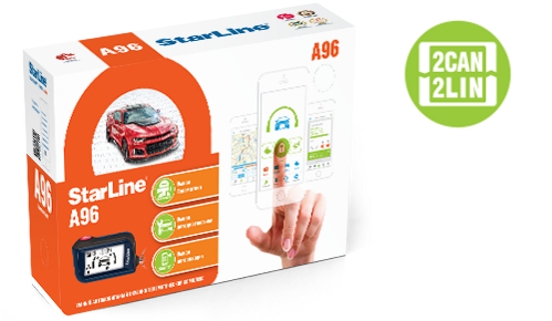 StarLine A96 2CAN + 2LIN GSM + GPS