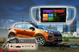 Магнитола KIA Sportage с 2016 - 2018 гг. Redpower 31174 R IPS DSP ANDROID 7